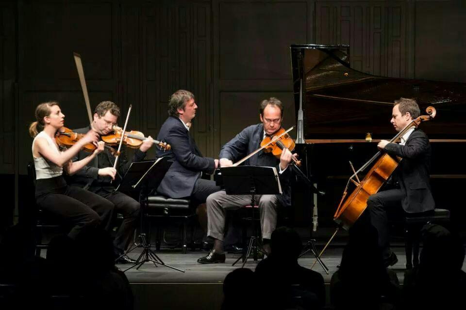 Tokyo La Folle Journée 2014 Dvorak Piano Quintet. Berezovsky, Makhtin, Da Silva, Demarquette