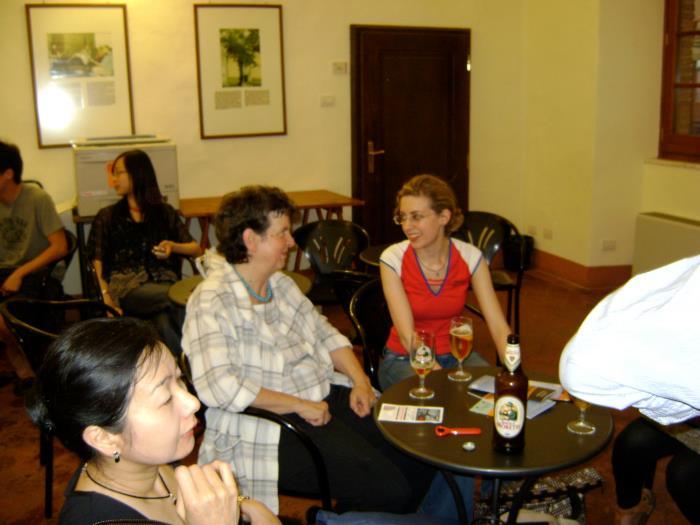 Montepulciano with my teacher Ana Chumachenco. 2010