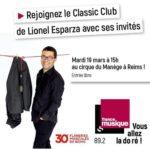 Emission le Classic Club de France Musique en replay