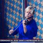 CNEWS & KTO TV – Cérémonie du Jeudi Saint – Notre Dame de Paris