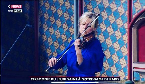 Cnews-ceremonie-jeudi-saint-notre-dame-paris-avril-2021