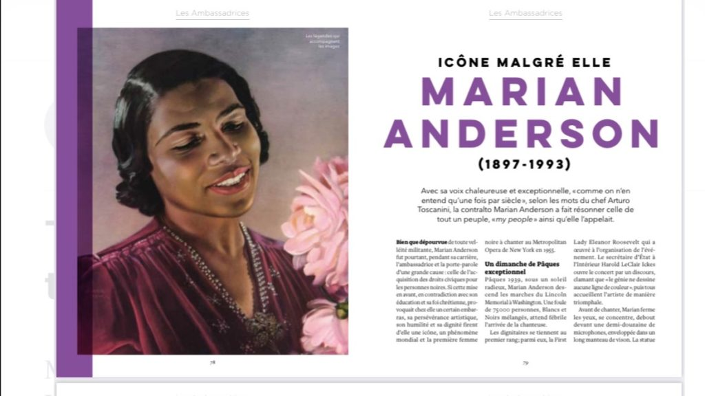 livre-musiciennes de légende-marina-chiche-2021-marian-anderson