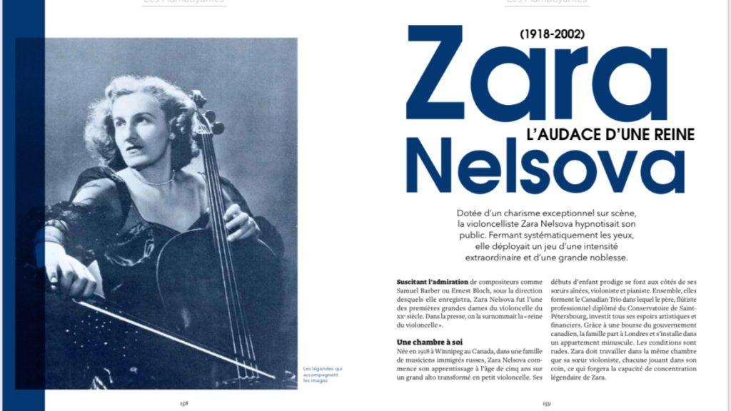 livre-musiciennes de légende-marina-chiche-2021-zara-nelsova